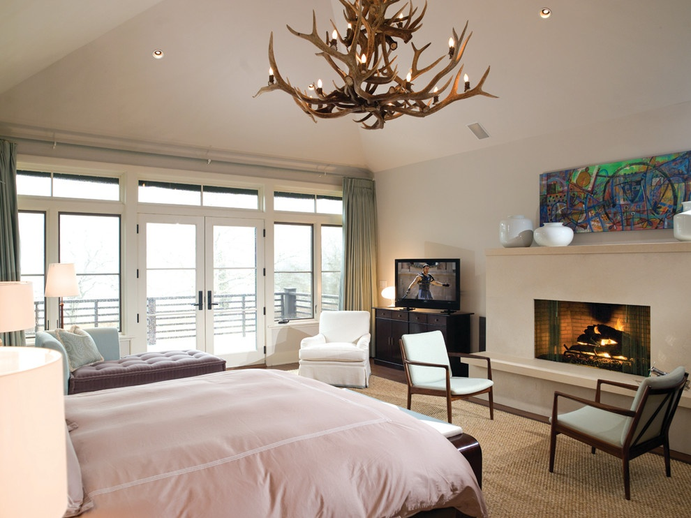 欧式简约主卧室装修效果图大全图片
