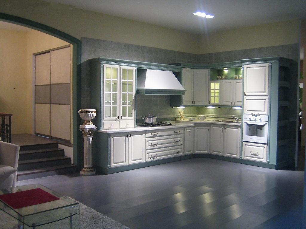 敞开式厨房整体橱柜图片大全装修效果图 第5张 家居图库 九正家居网高清图片
