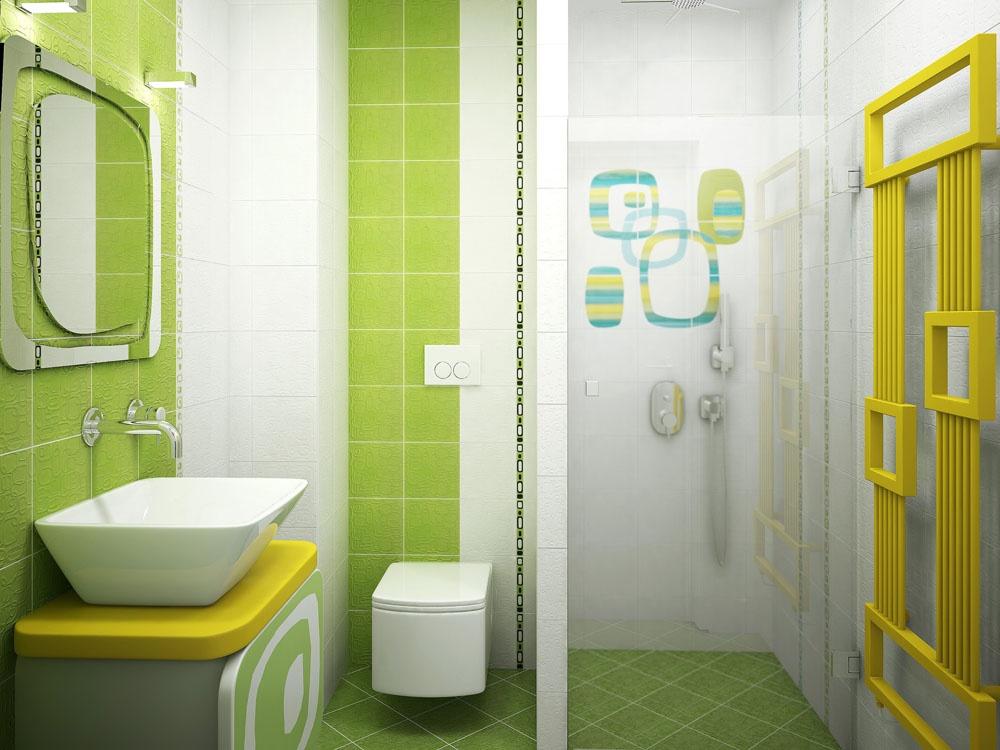 田园卫生间隔断装修效果图 小卫生间装修效果图大全2012图片 (5/9)