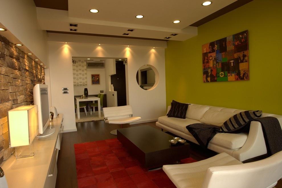 两室一厅90平装修客厅效果图 3 5高清图片