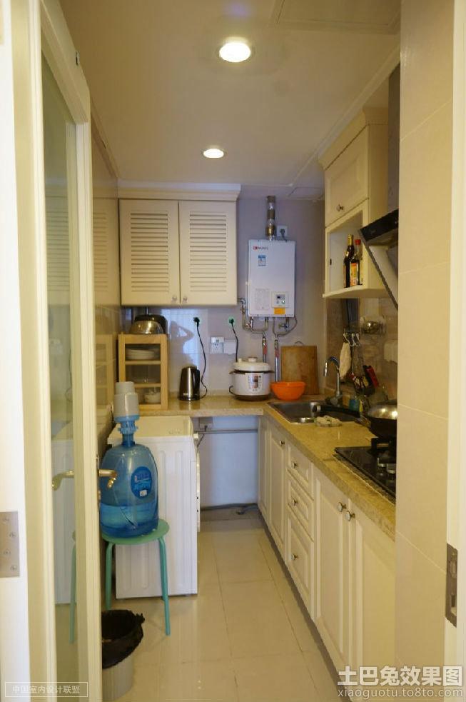 现代小厨房整体装修效果图装修效果图