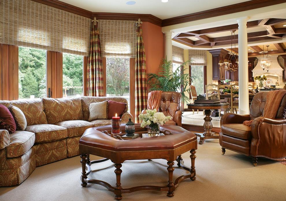 欧式客厅窗帘效果图_欧式客厅窗帘图片欧式窗帘效果图家居图片