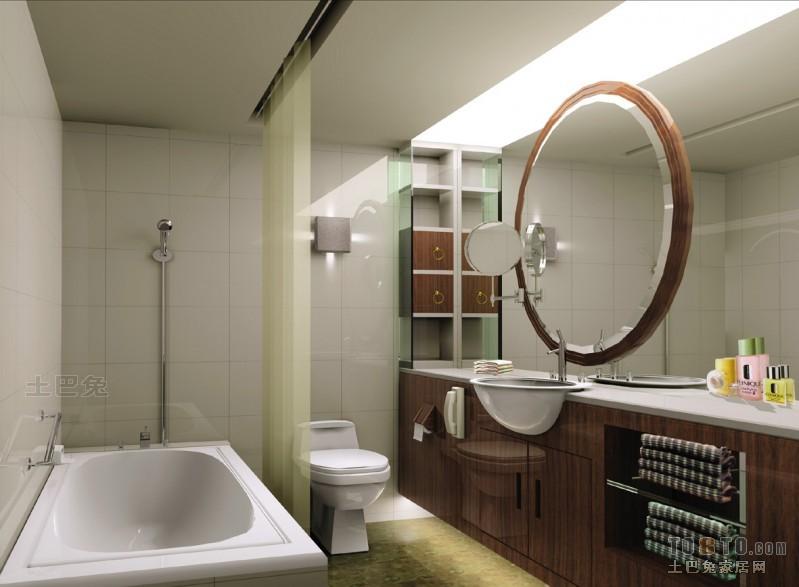 宾馆普通卫生间装修效果图 10 11