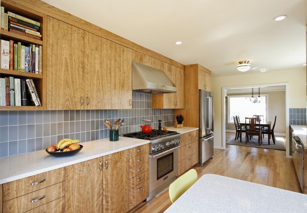 美式开放式厨房橱柜装修效果图大全装修效果图 第7张 家居图库 九正高清图片