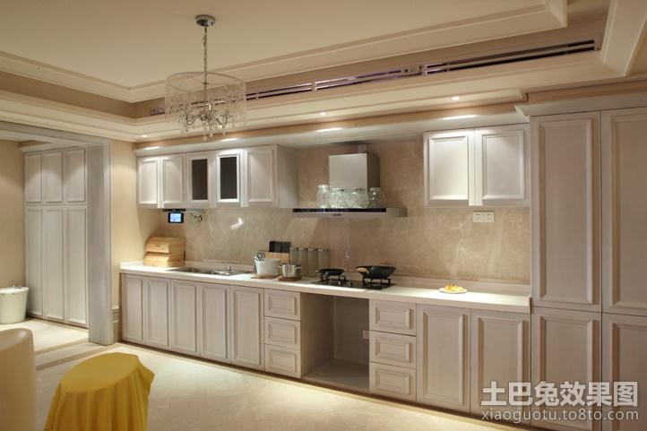 最新欧式风格开放式厨房装修效果图大全 (3/5)