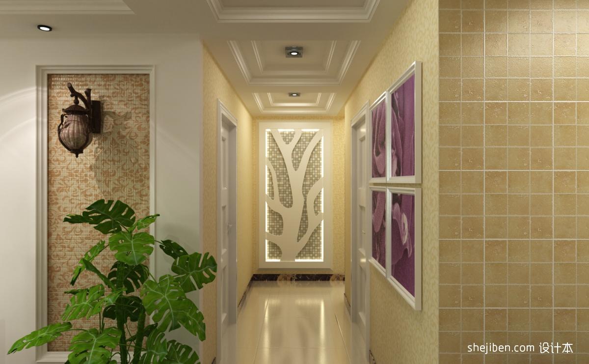 走廊吊顶装饰图片装修效果图