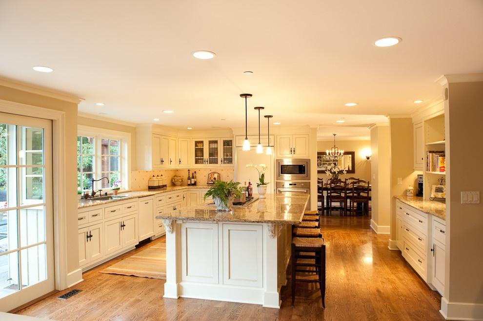 欧式开放式厨房设计图片装修效果图_第3张 - 家居图库图片