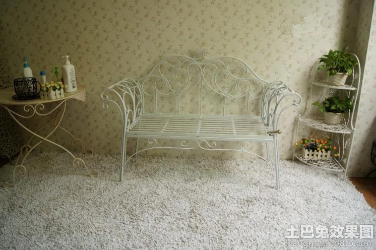 欧式铁艺家具图片装修效果图 第2张 家居图库 九正家居网高清图片