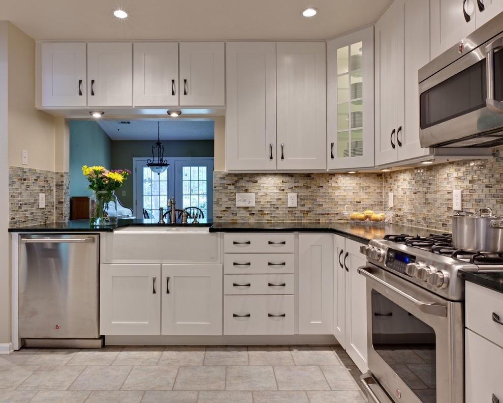 欧式厨房橱柜装修设计图片装修效果图