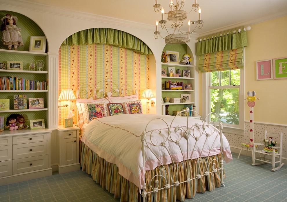 欧式简约儿童房卧室装修图片 (4/4)图片