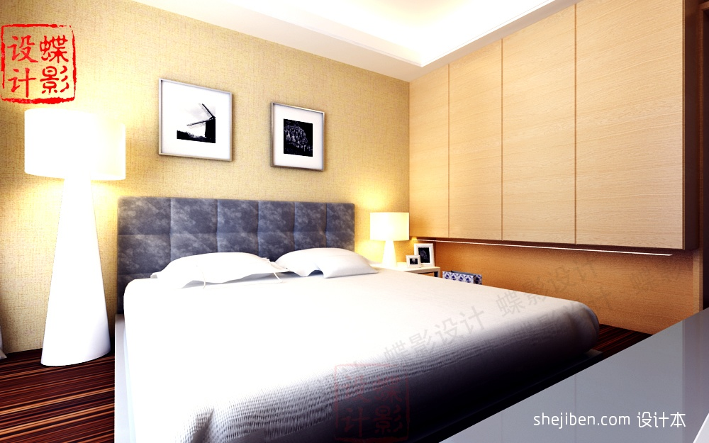 14平方米卧室装修效果图 4 6高清图片