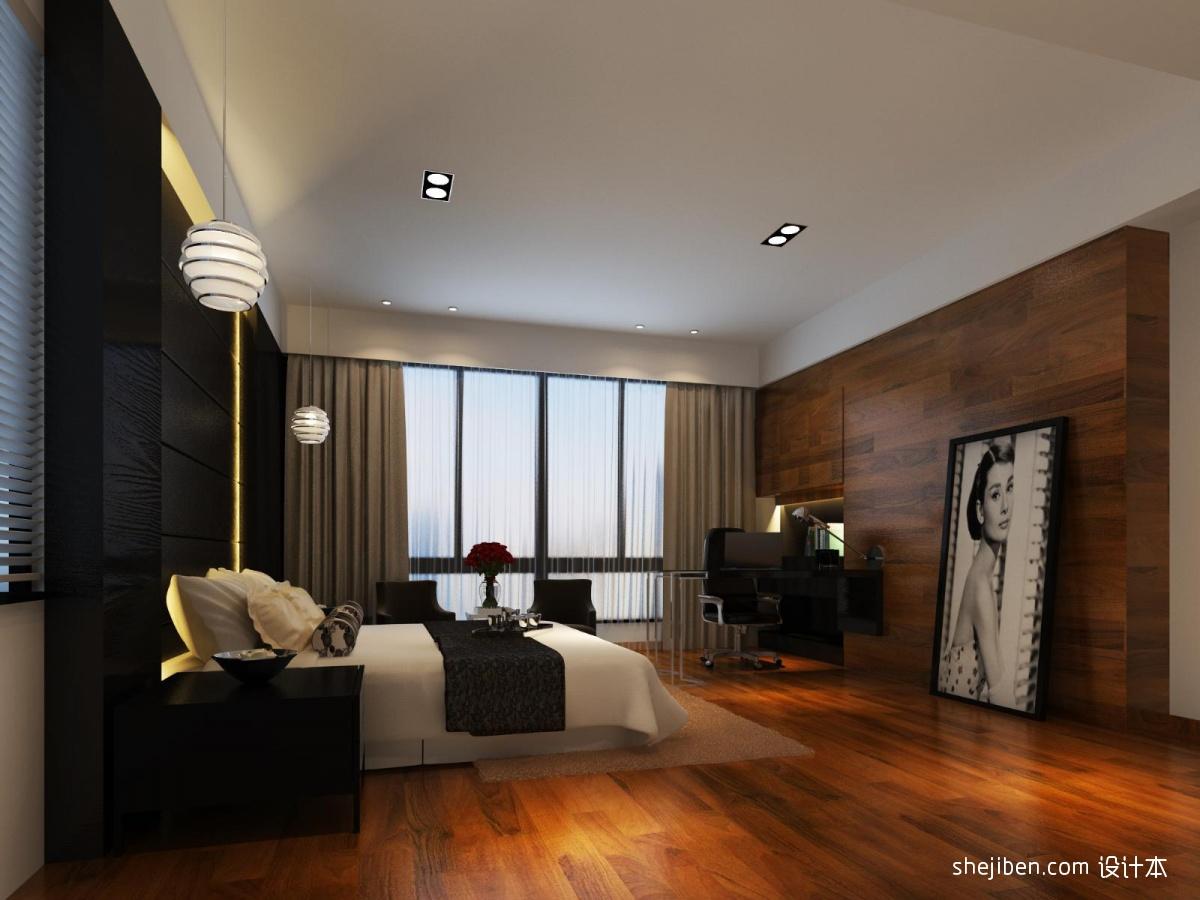 欧式别墅三楼主卧装饰设计图片装修效果图 第1张 家居图库 九正家居网高清图片