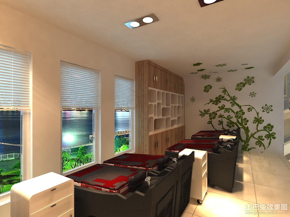 40平方 理发店 装修 设计 装修效果 图 第3张 家高清图片