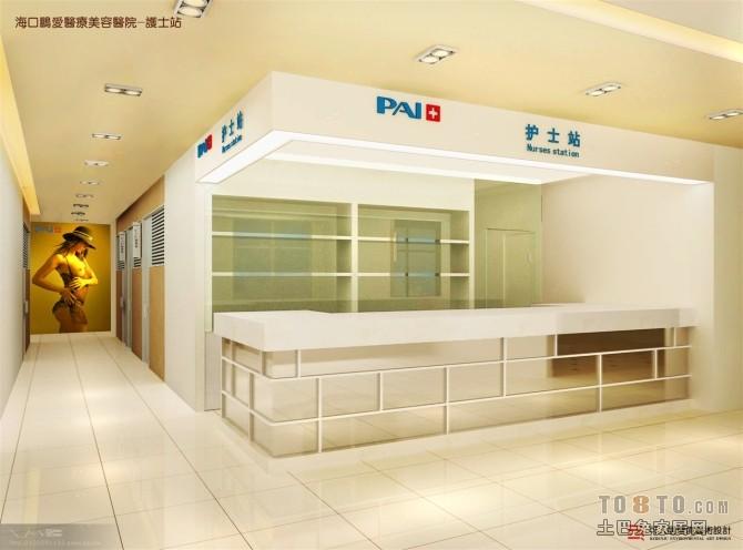 医院护士站装修效果图 2 3高清图片