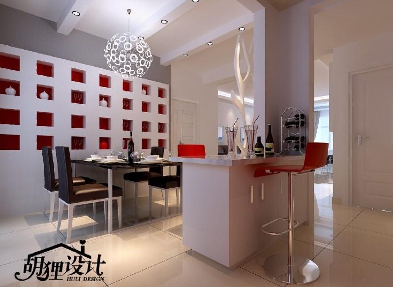简约餐厅吧台装修效果图装修效果图 第2张 家居图库 九正高清图片