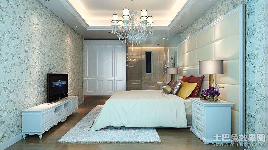 欧式卧室电视背景墙效果图欣赏装修效果图图片