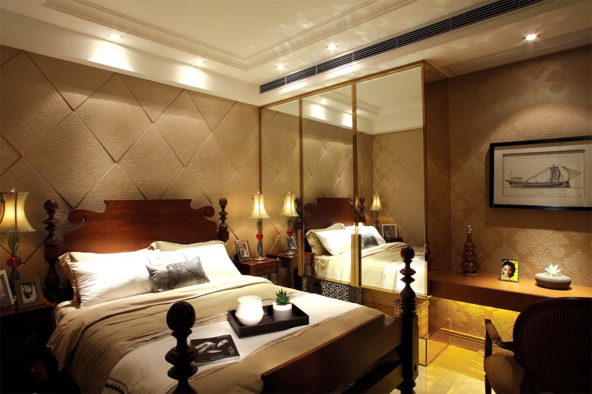 2013欧式主卧室设计效果图装修效果图图片
