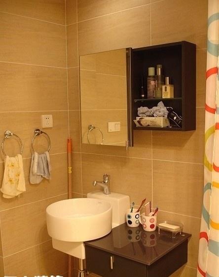 小型洗手间装修效果图大全2013图片装修效果图