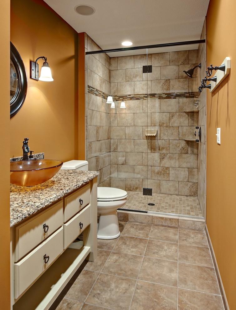 简约风格小卫生间浴室玻璃门效果图装修效果图_第5张