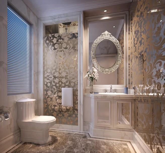 欧式风格卫生间设计效果图装修效果图图片