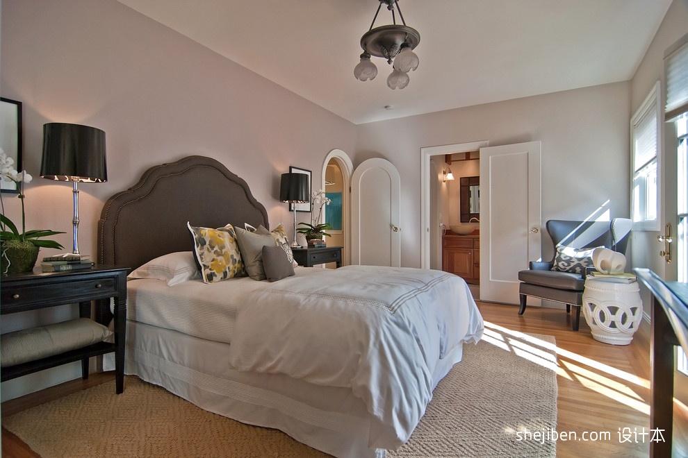 最新欧式主卧室效果图装修效果图图片