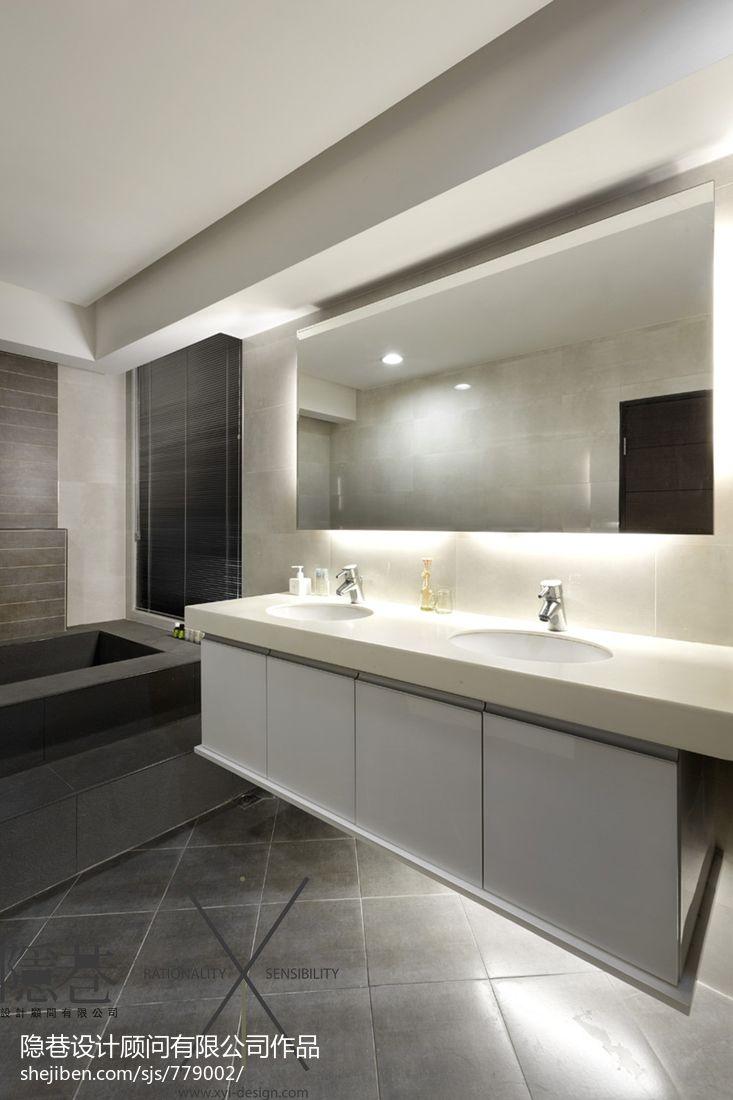 现代风格洗手间装修效果图装修效果图