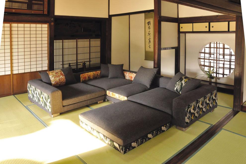 日式小户型客厅榻榻米装修效果图装修效果图 第2张 家居图高清图片