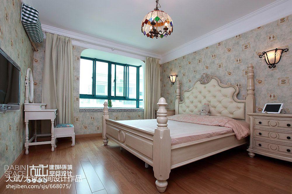 卧室壁纸窗帘装修效果图图片装修效果图