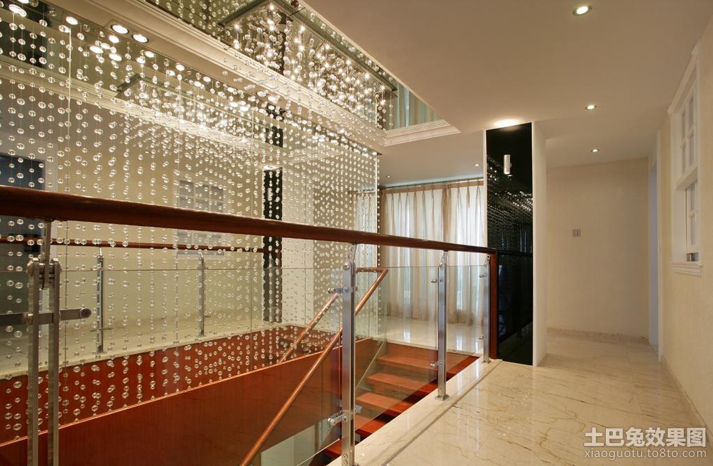 走廊水晶窗帘过道装修效果图 2 9高清图片