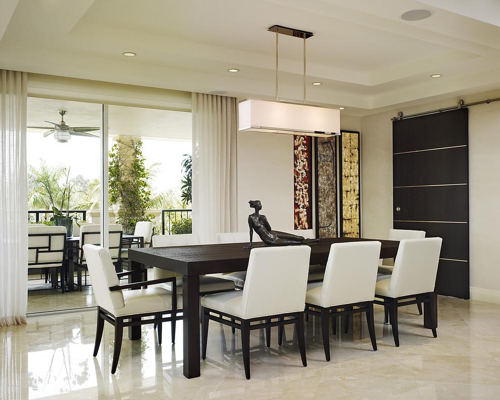 现代中式餐厅吊顶效果图装修效果图 第3张 家居图库 九正家居网高清图片