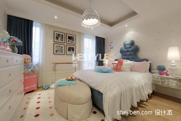 别墅女生卧室装修效果图装修效果图