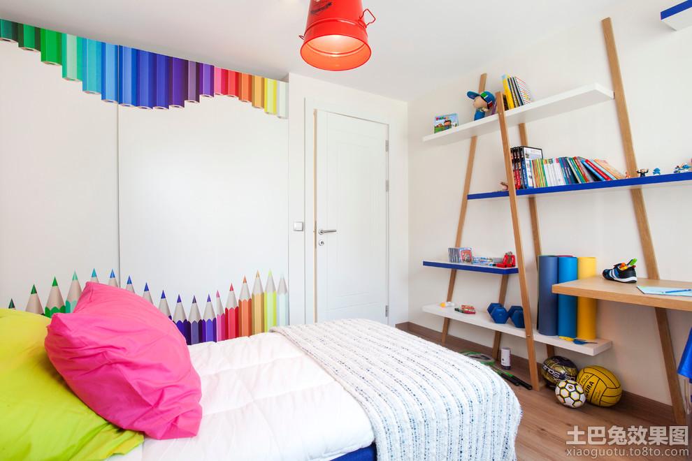 儿童房壁纸设计装修效果图装修效果图