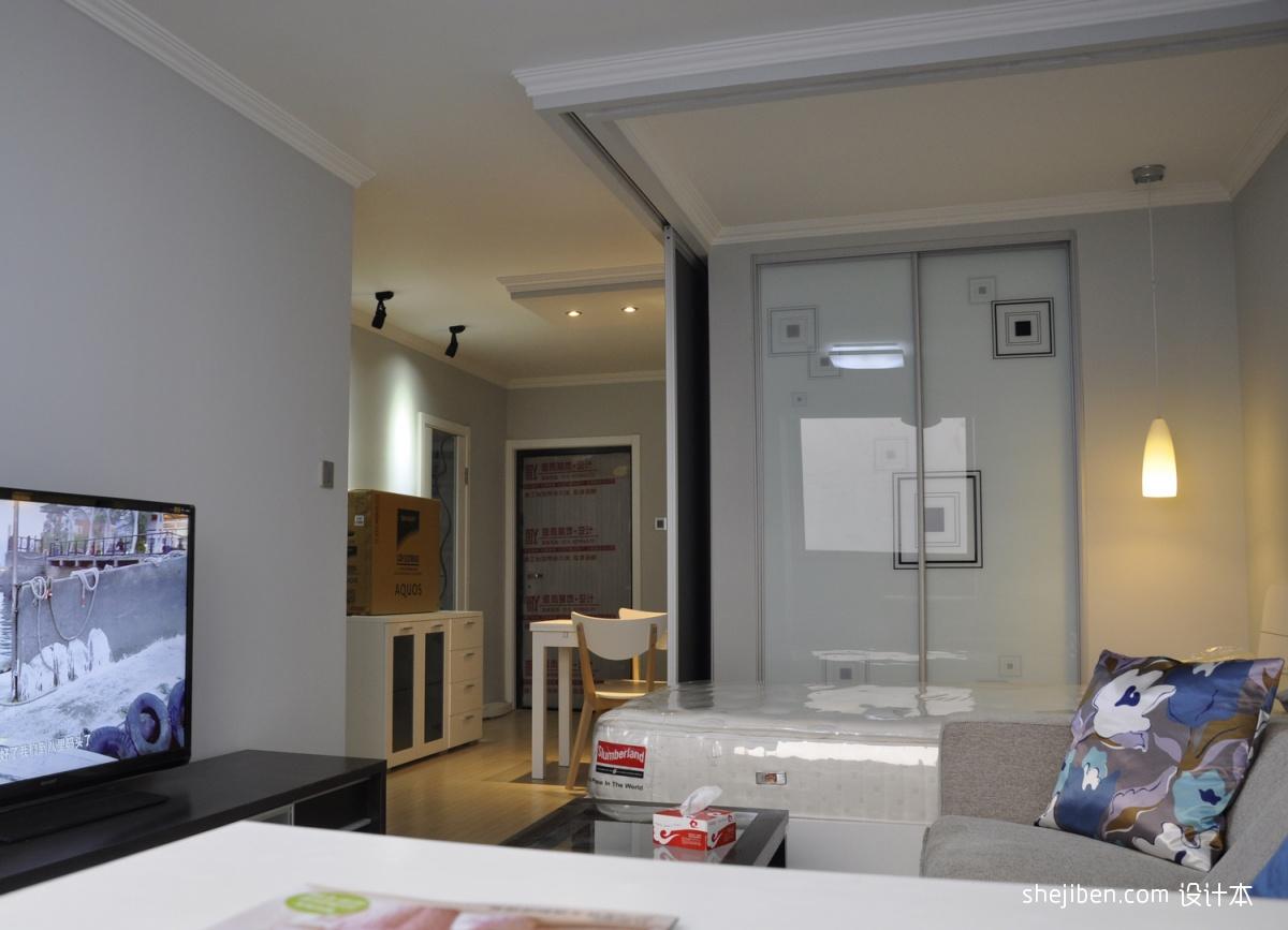 小户型客厅隔断卧室效果图装修效果图_第5张 - 家居