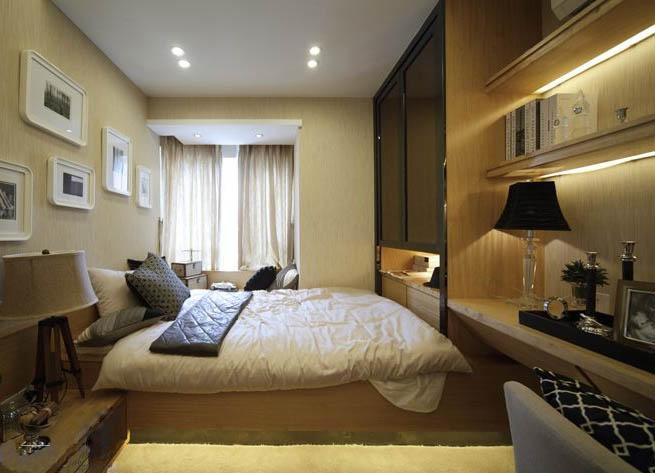 最新10平米小卧室装修效果图 (1/6)图片