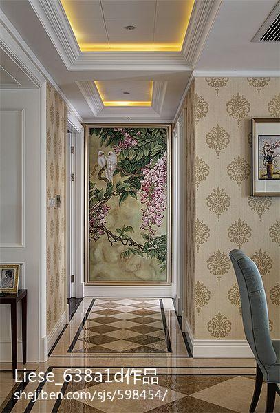家居图库 欧式风格三室两厅客厅吊顶效果图 > 第4张  共 12 张图片图片