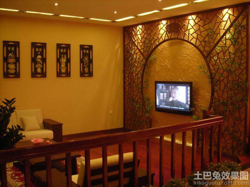 新中式电视背景墙效果图大全2013图片 2 5高清图片