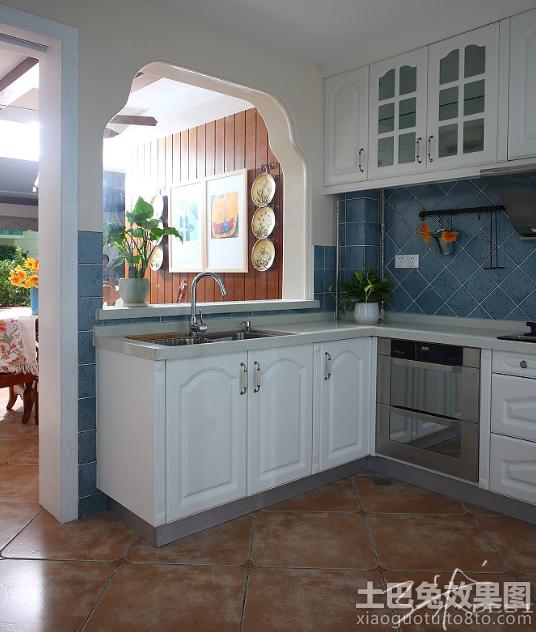 欧式风格小厨房装修设计装修效果图_第1张 - 家居图库