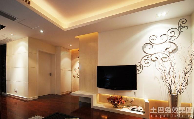 雕花板电视背景墙装修效果图大全2013图片 1 8高清图片