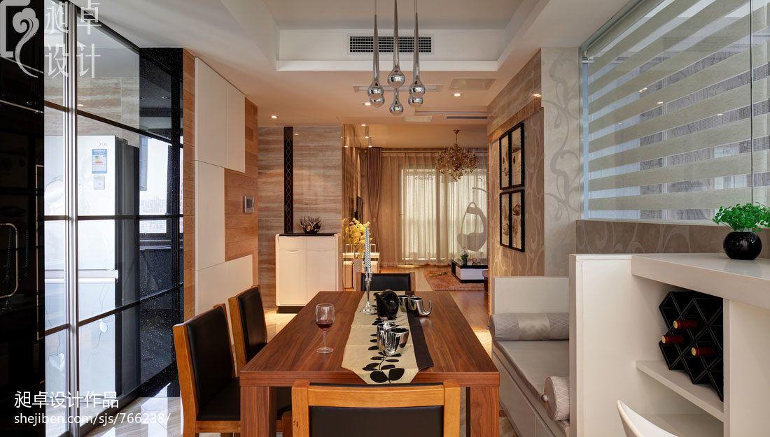 家庭厨房餐厅装修效果图装修效果图