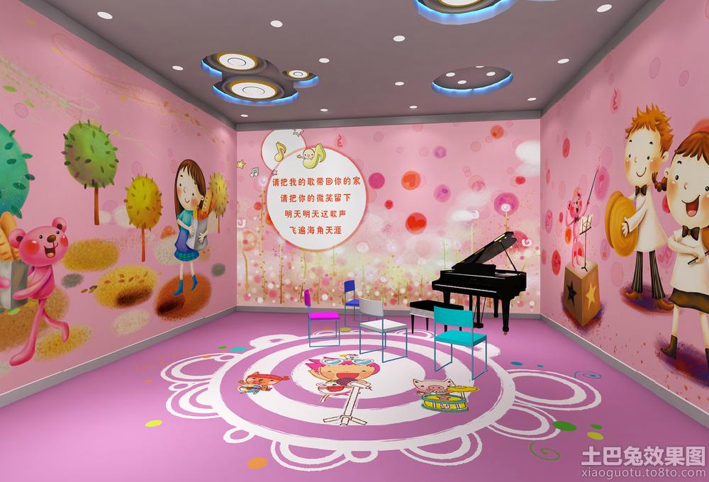 幼儿园中班教室墙面布置图装修效果图_第3张 - 家居
