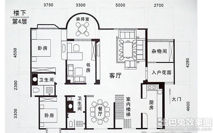 农村房屋建筑平面设计图装修效果图