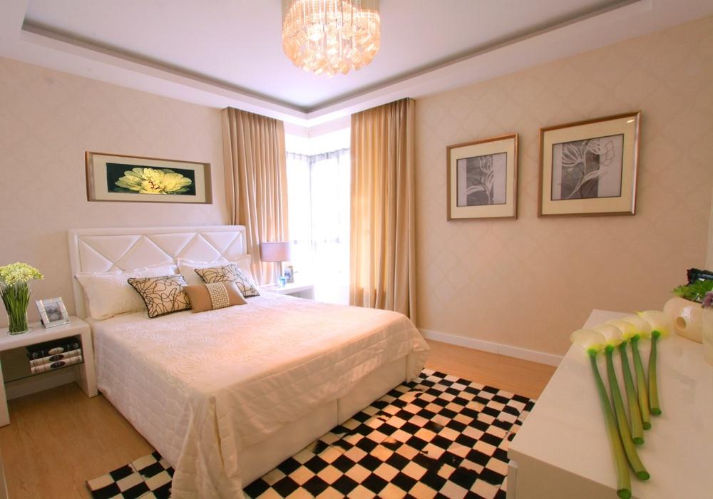 2013最新卧室床头壁纸背景墙效果图片欣赏装修效果图
