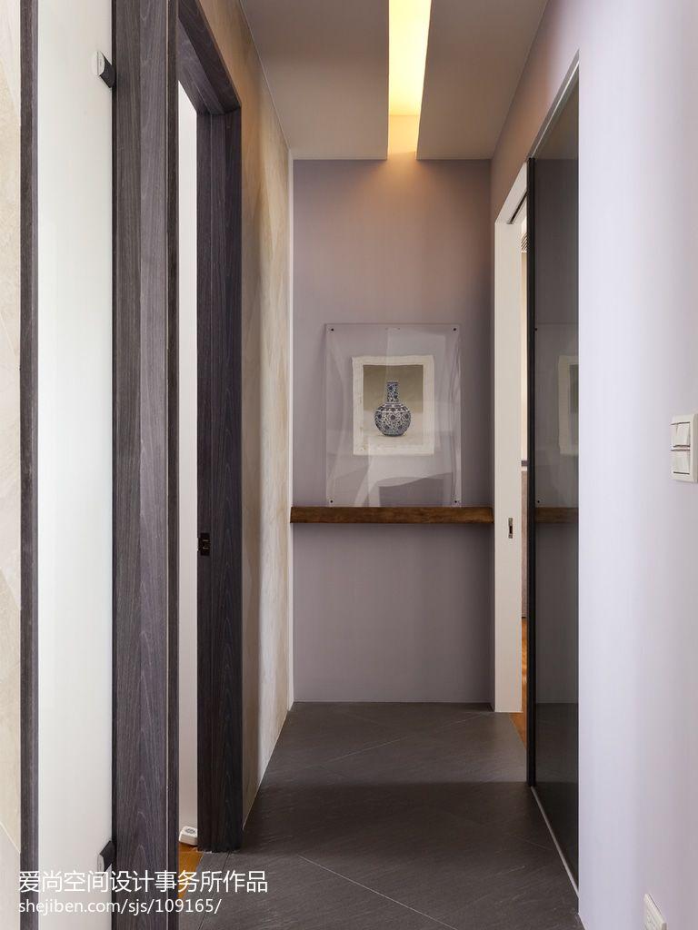 代简约风格室内过道地板砖装修效果图 12 24高清图片
