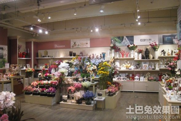 韩式花店装修效果图 (6/10)
