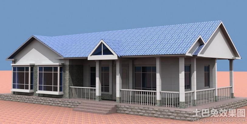 南方农村平房屋设计图装修效果图