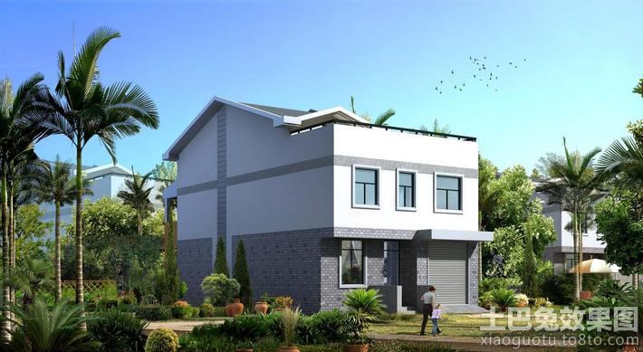 农村二层楼房设计图大全装修效果图-求取农村二层半楼房屋设计图和