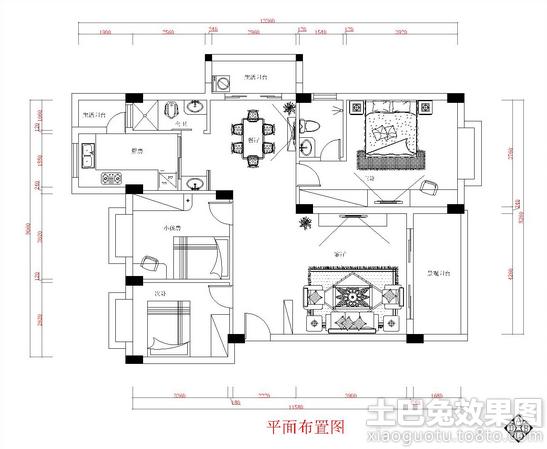 二层楼房平面设计图装修效果图