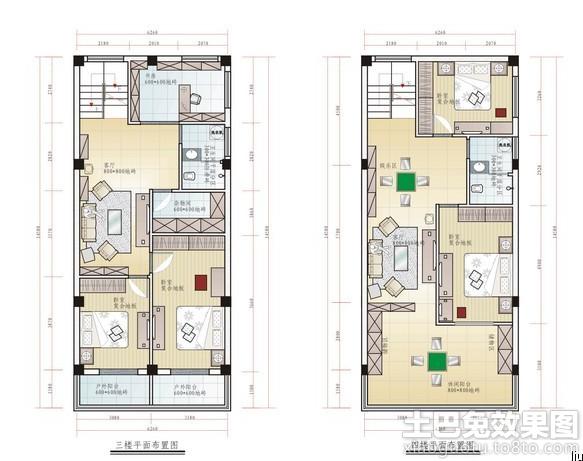长方形的房子设计图怎么样装修