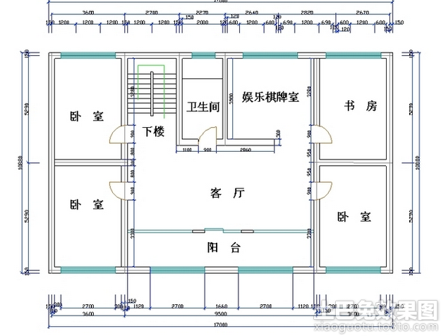 农村4房屋设计图纸装修效果图