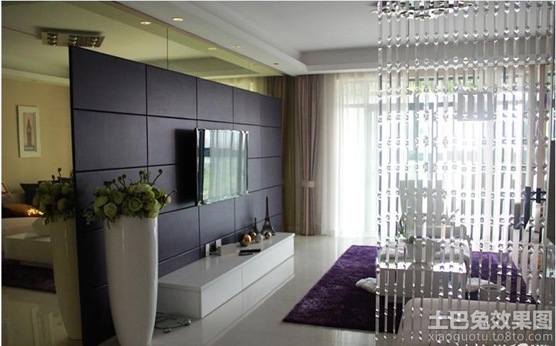 客厅 水晶 珠帘隔断 装修效果图 大全 装修效果图